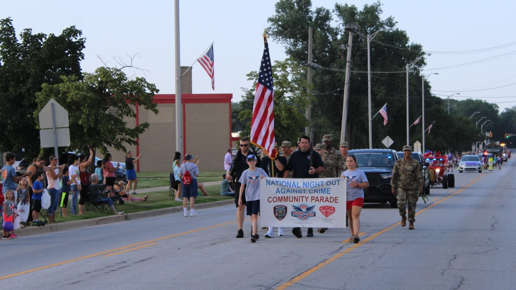 Munster National Night Out Parade