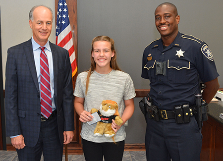 Haughton Elementary Student Wins Parish-Wide D.A.R.E. Essay Contest