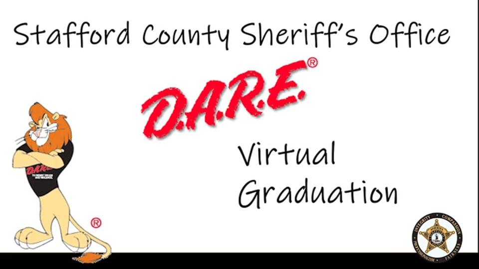 Stafford County Sheriff's Office D.A.R.E. Virtual Graduation