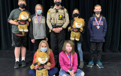Students Receive Awards from D.A.R.E.