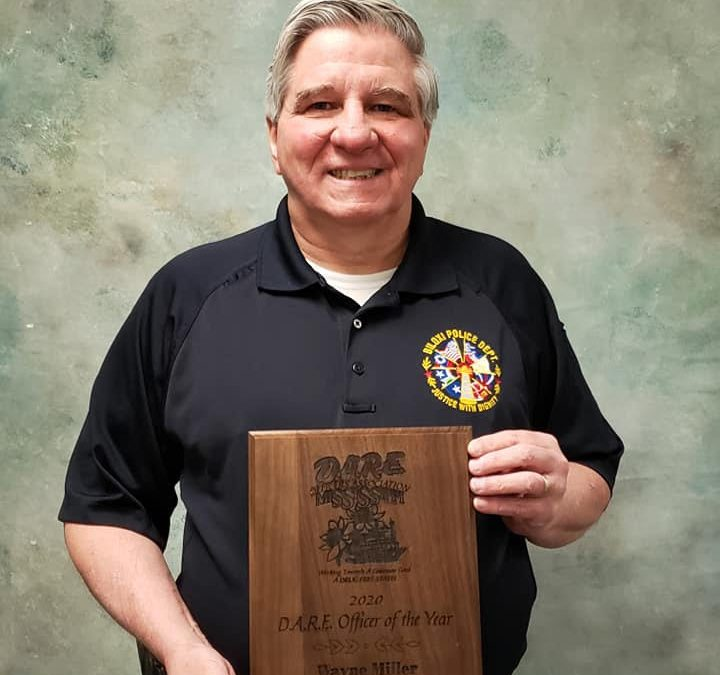 2020 Mississippi D.A.R.E. Officer of the Year