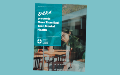 """D.A.R.E. """"More Than Sad"""" Teen Suicide Lesson Helps Save Students Lives"""